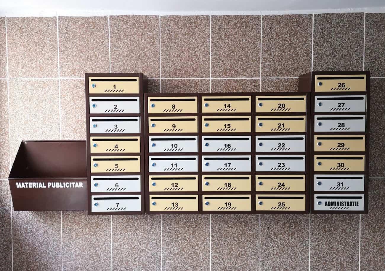 cutii de scrisori