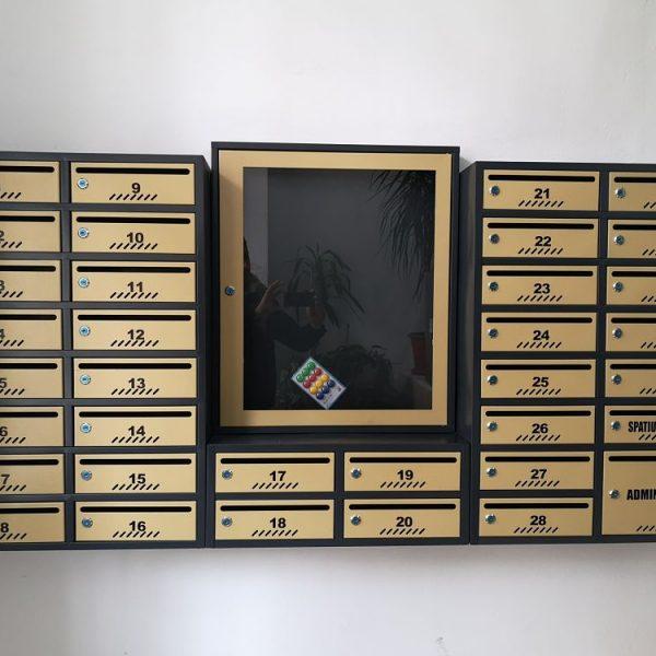 cutii postale rezidantiale